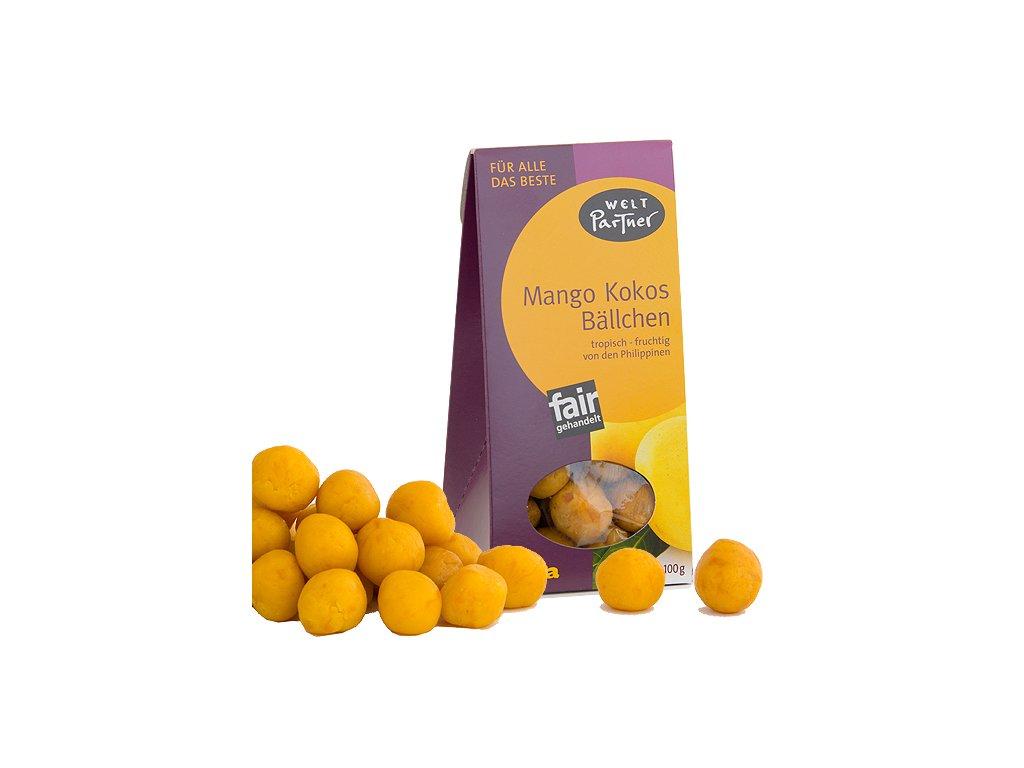 Mango kokosové kuličky