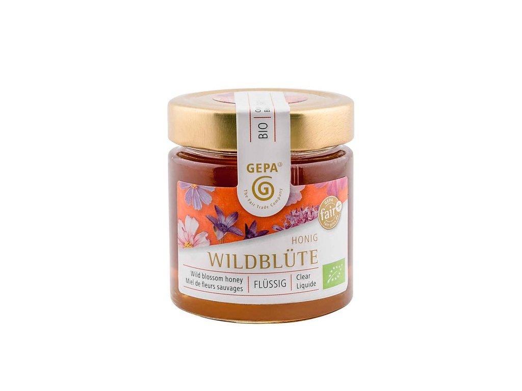Bio med z divokých květů tekutý 250 g