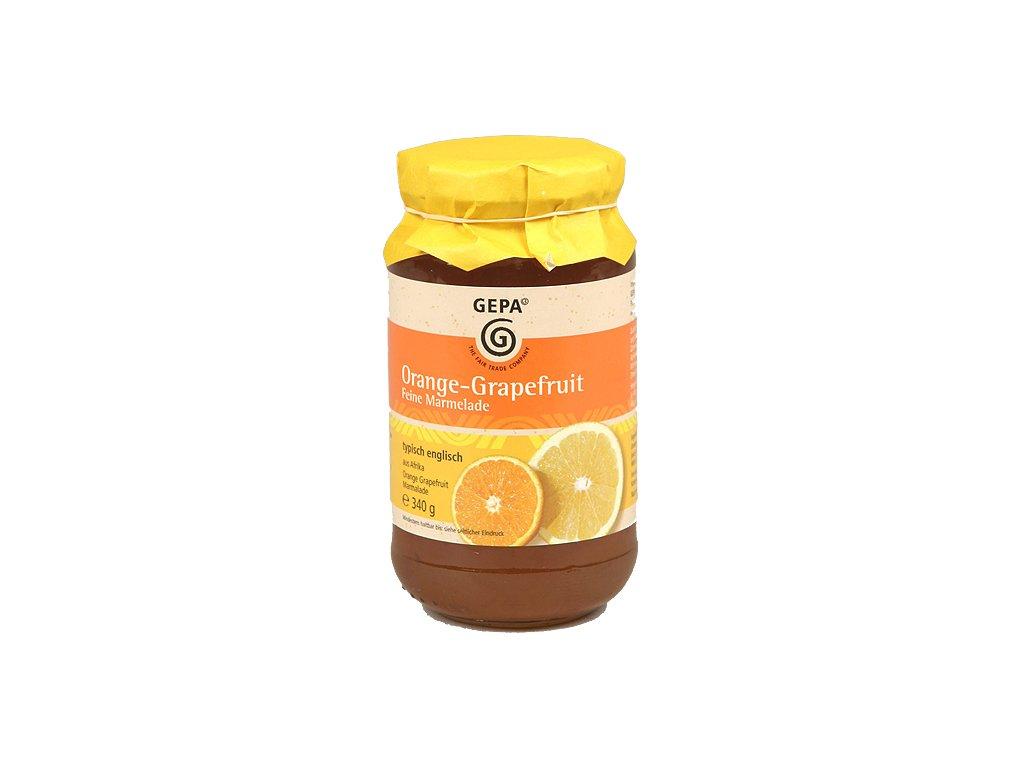 Fairtrade marmeláda pomeranč grapefruit 340 g