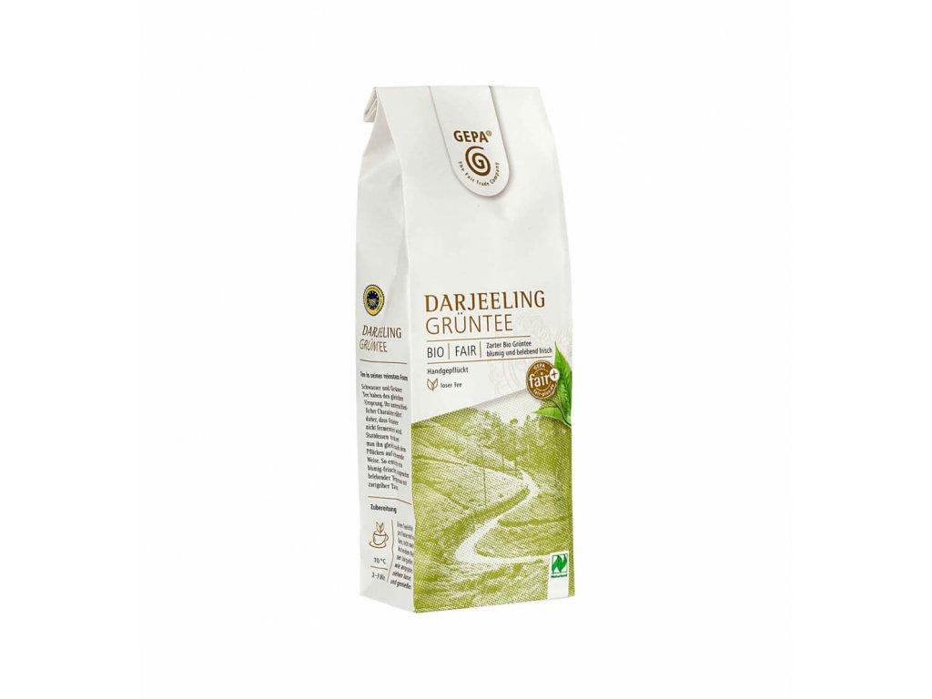 BIO Fairtrade čaj sypaný  Darjeeling exclusive zelený, 100 g