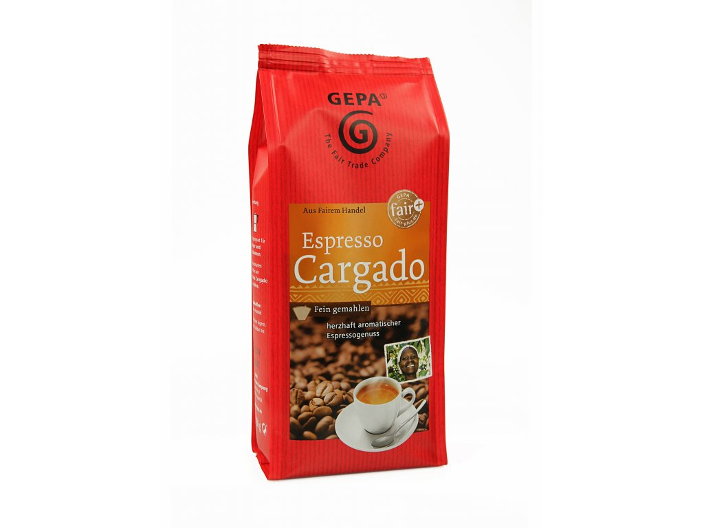 Mletá káva Fairtrade - Cargado 250g espresso