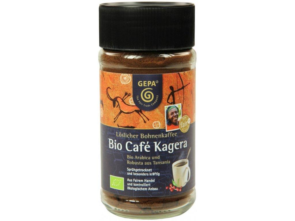 Instantní káva Fairtrade BIO Kagera 100 g
