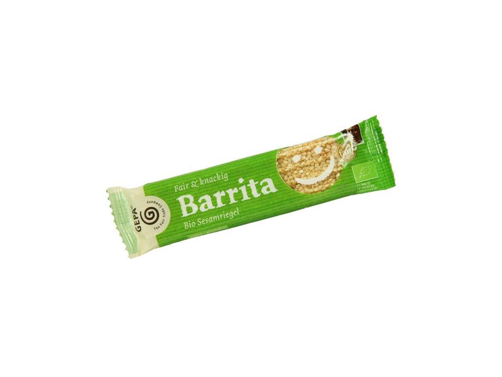 BIO sezamová tyčinka Barrita, 20 g