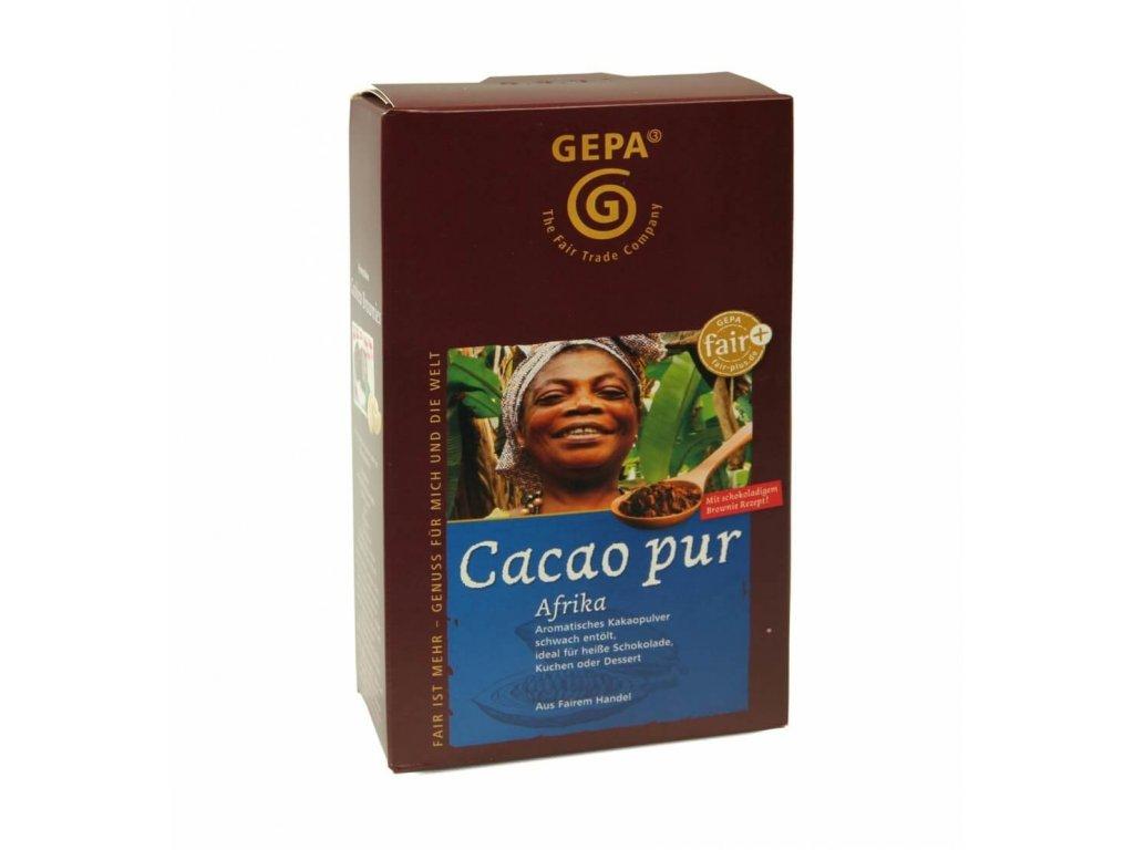 Kakao Afrika 98% mírně odtučněné 250g.