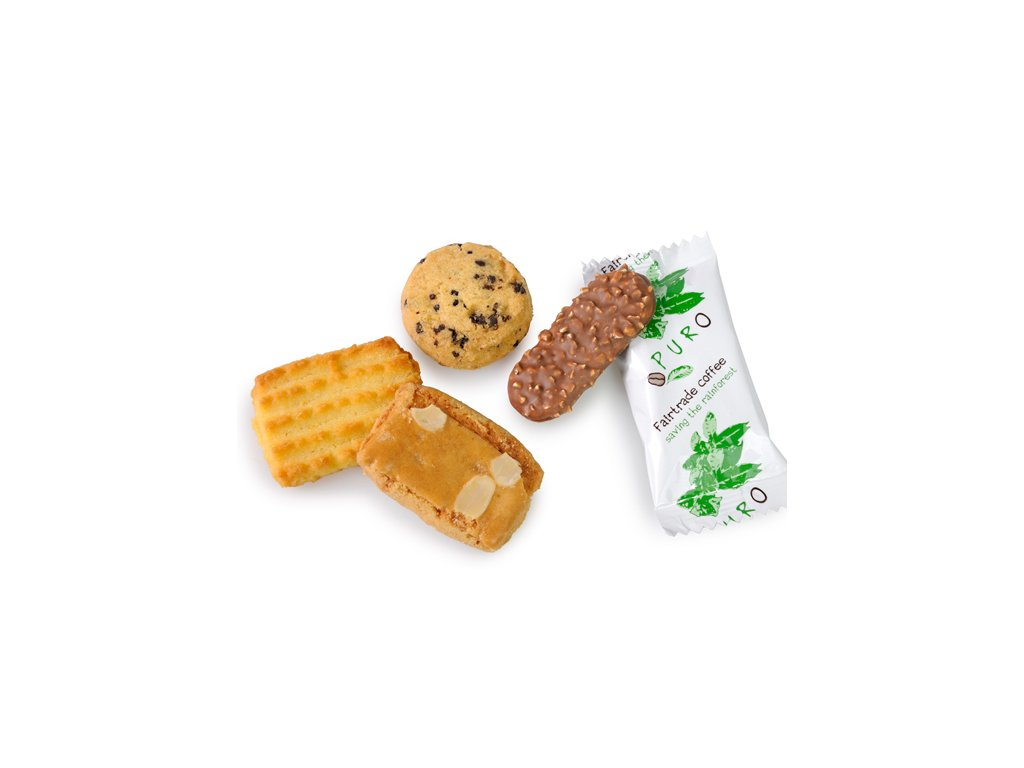 Puro Candelaria mix balených sušenek 125 ks