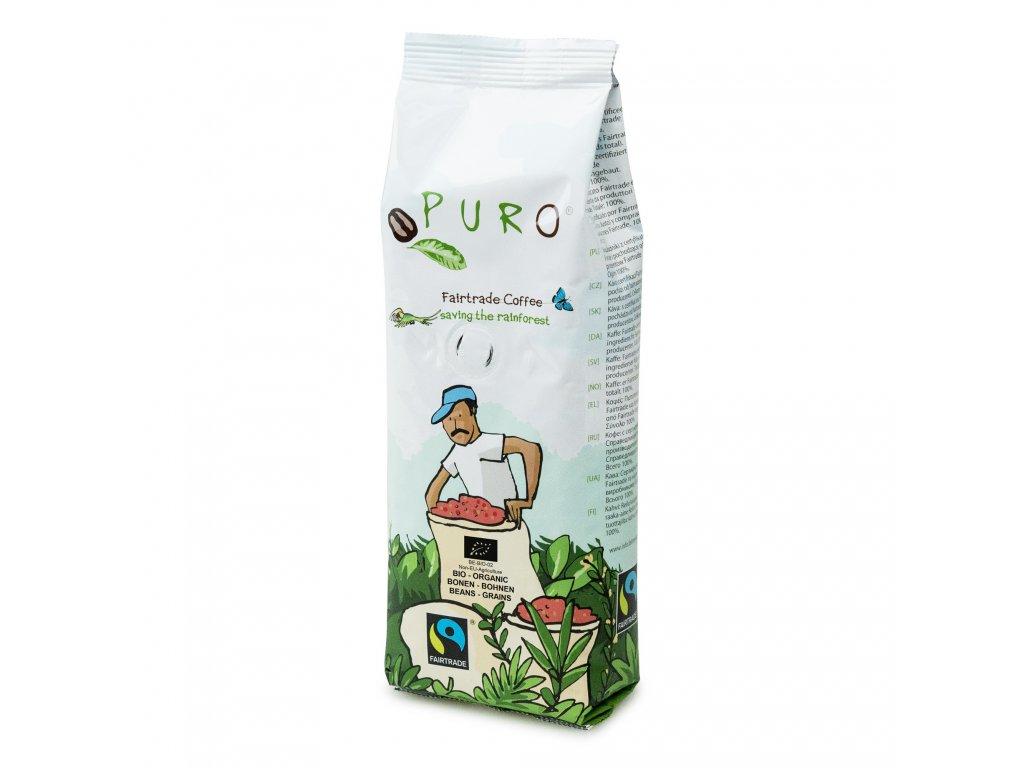 Zrnková káva Puro Fairtrade BIO 250g
