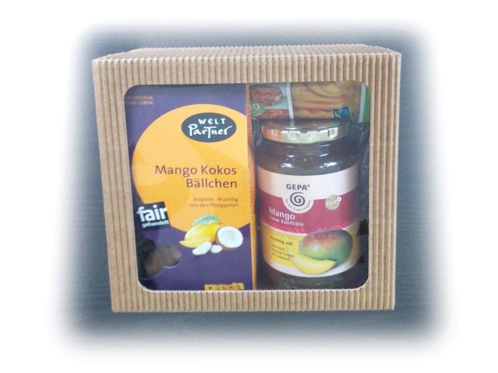 FAIRTRADE dárkový balíček Mangové dobrodružství