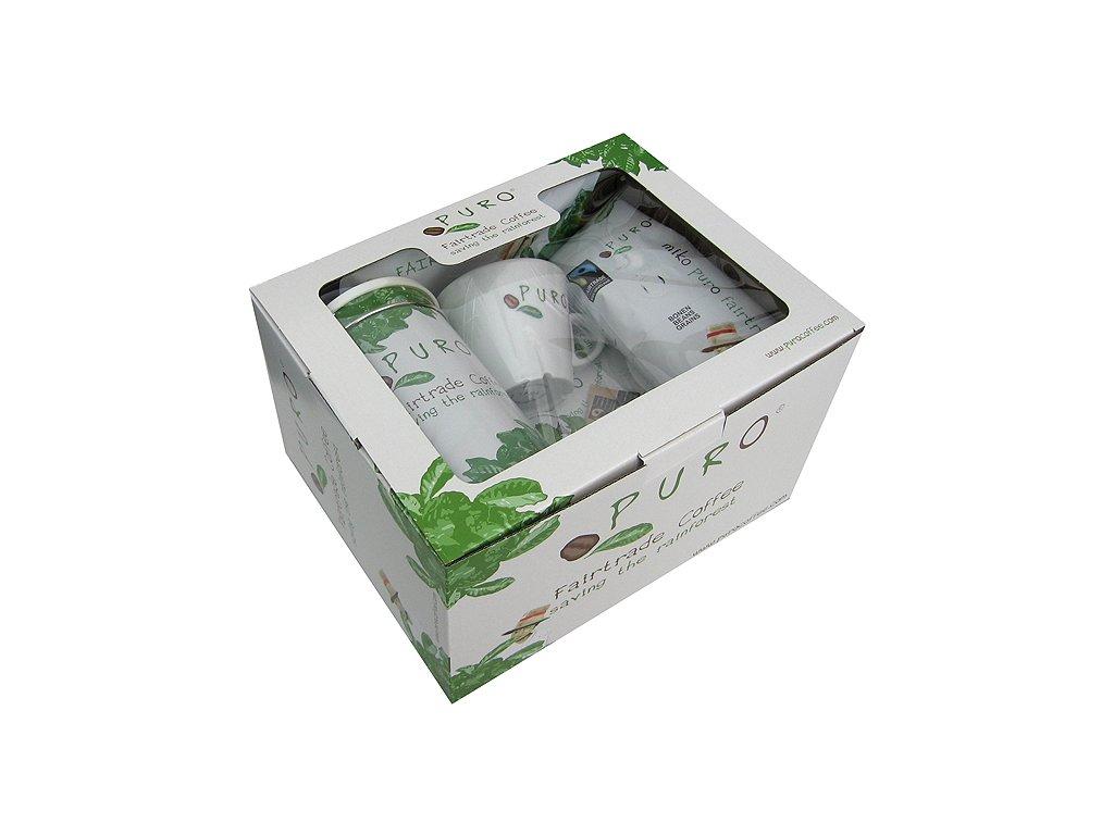 FAIRTRADE dárkový balíček Puro set