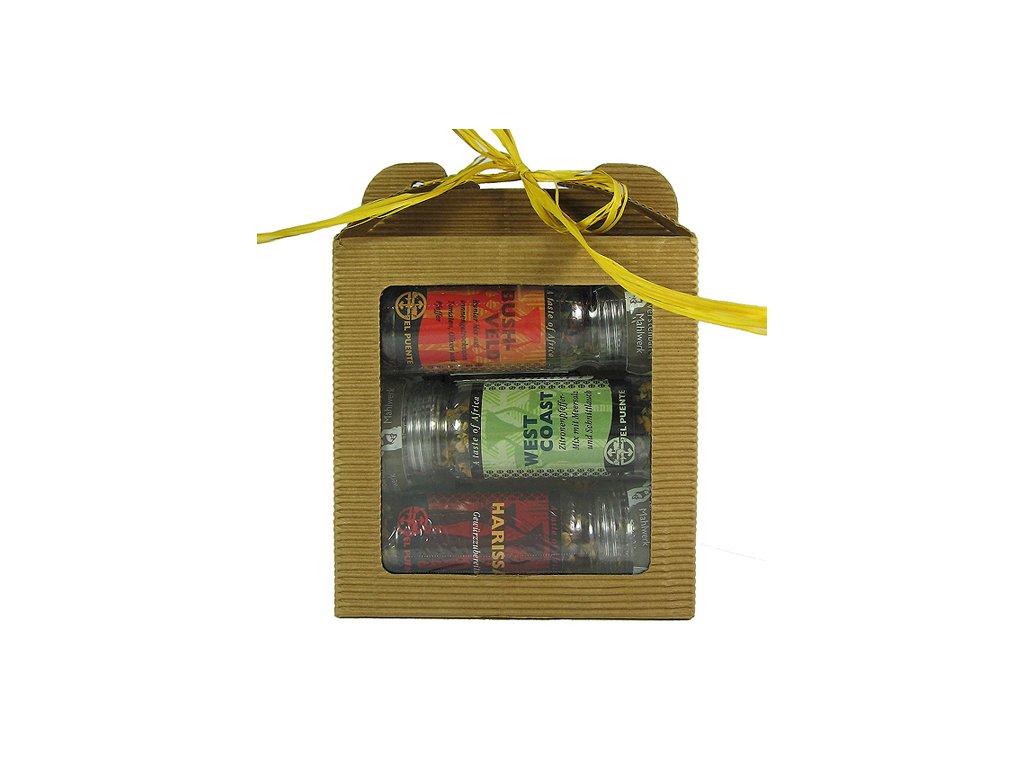 FAIRTRADE dárkový balíček Mlýnkové trio slané