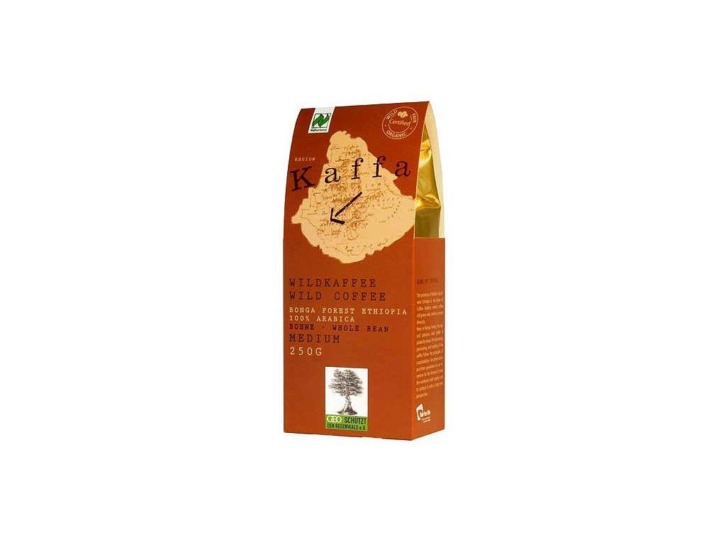 Zrnková káva Fairtrade - BIO Kaffa medium 250g