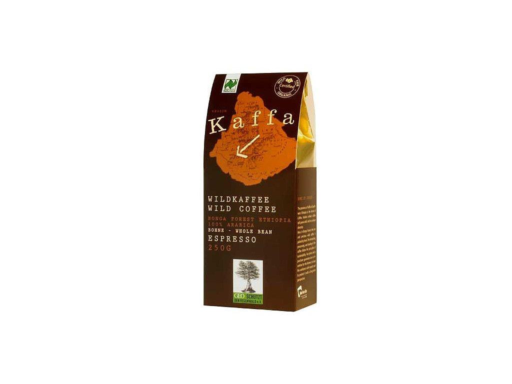Zrnková káva Fairtrade  - BIO Kaffa espresso 250g