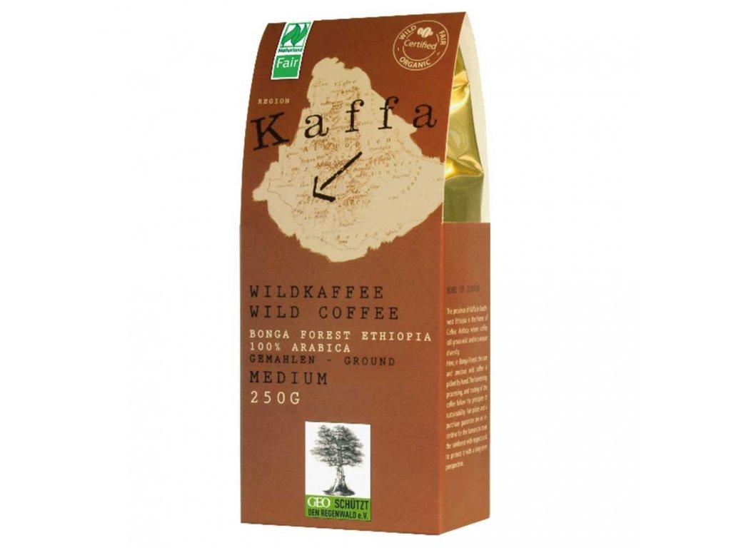 Mletá káva Fairtrade   - BIO Kaffa medium 250g