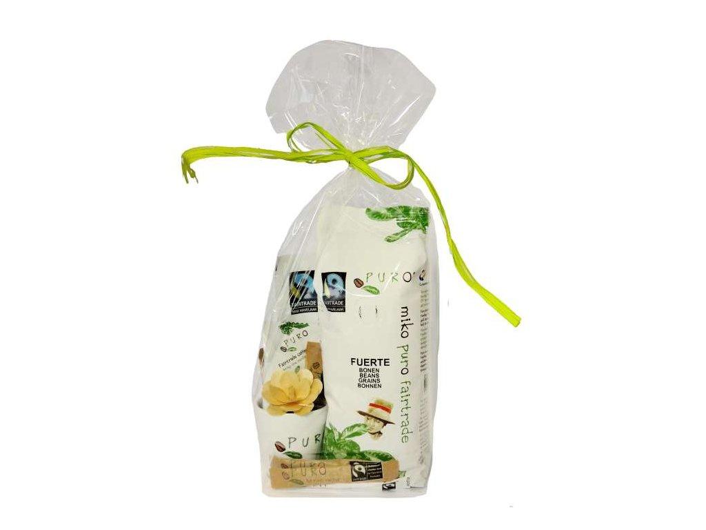 FAIRTRADE dárek Puro káva se šálkem