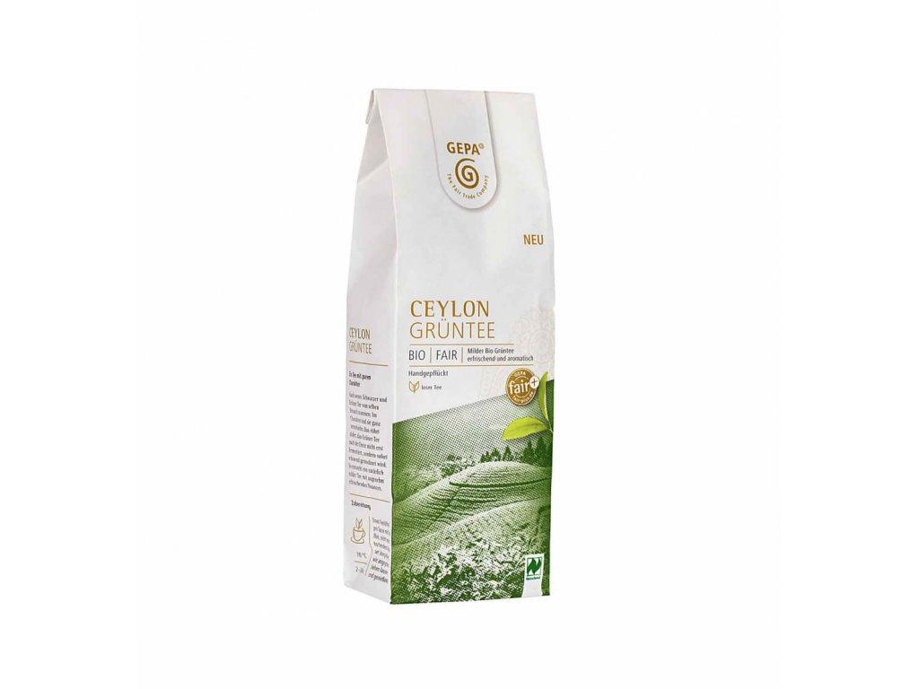 BIO zelený čaj Exclusive Ceylon sypaný 100g