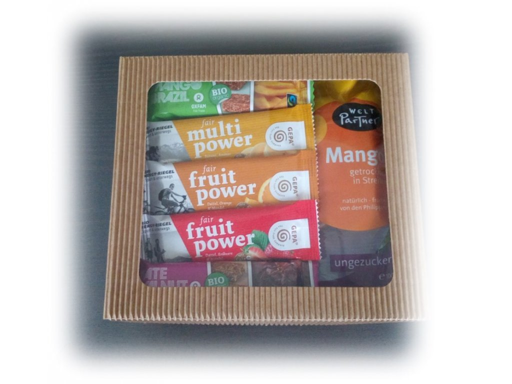 FAIRTRADE dárkový balíček Ovocné chutě