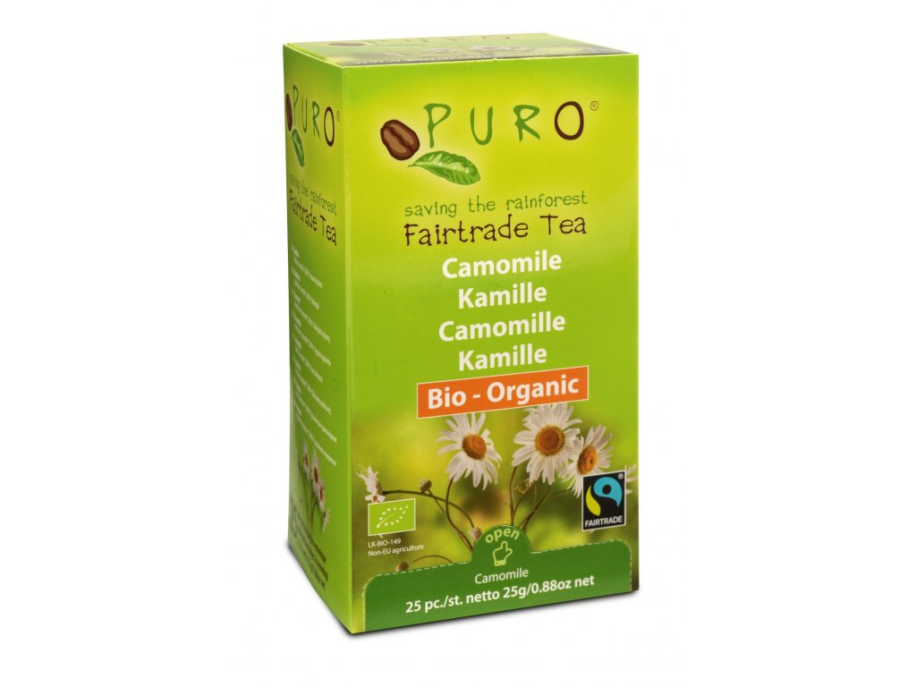 RS2444 550198 TEA PURO FT CAMOMILE 25X2g ENG scr