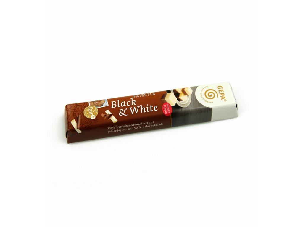 Mléčná čokoláda Black & White, 45 g