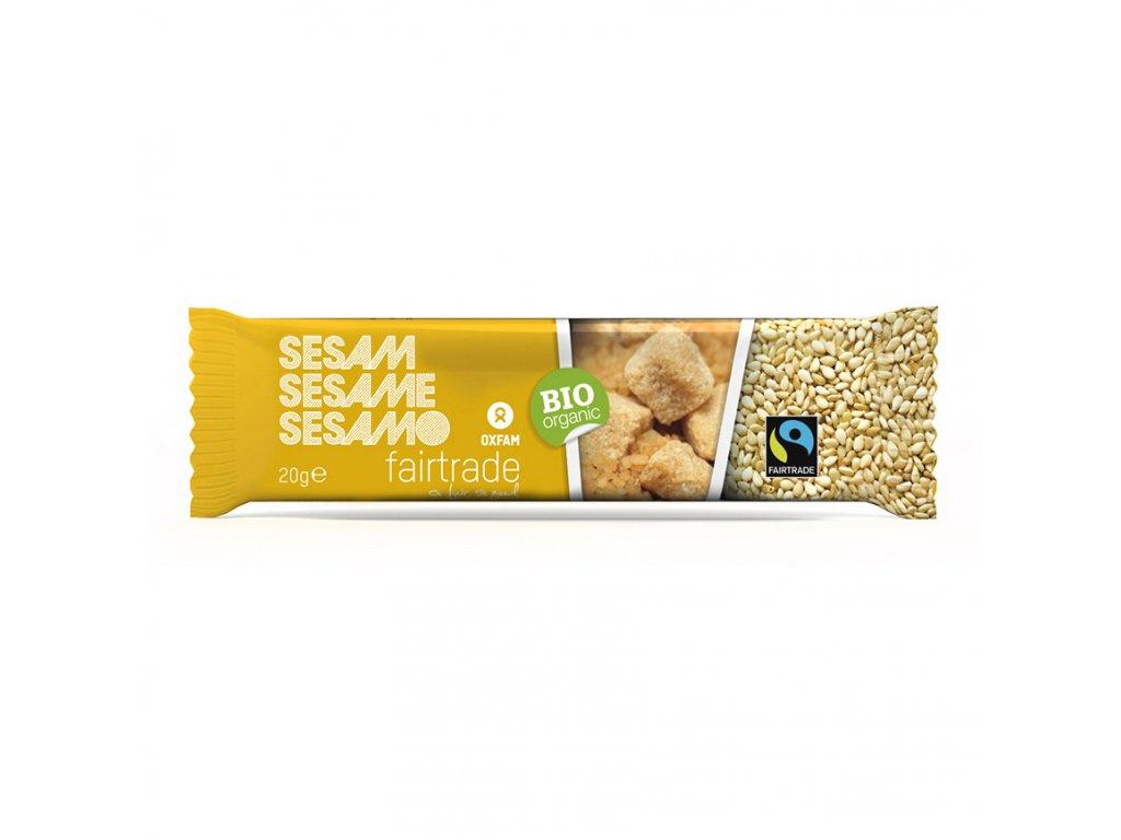 BIO organická sezamová tyčinka, 20 g