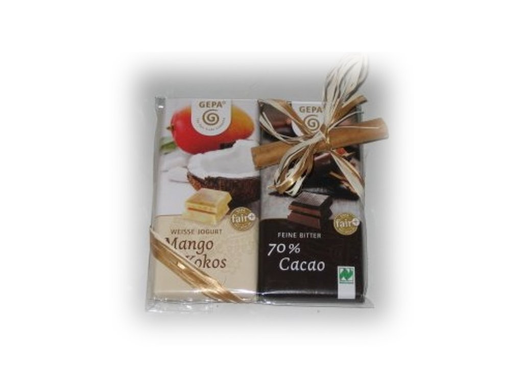 FAIRTRADE dárek Čokoládové duo