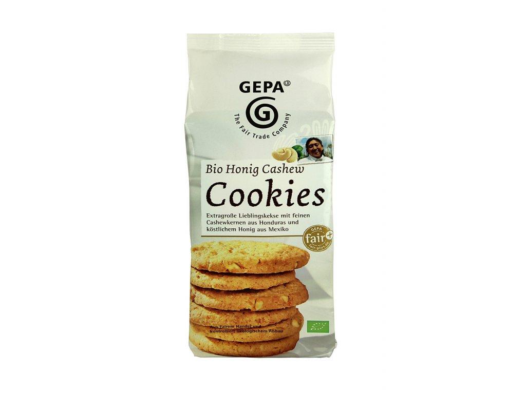 BIO sušenky s medem a kešu oříšky