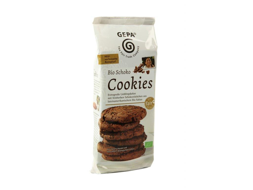 BIO sušenky s kousky čokolády 150g