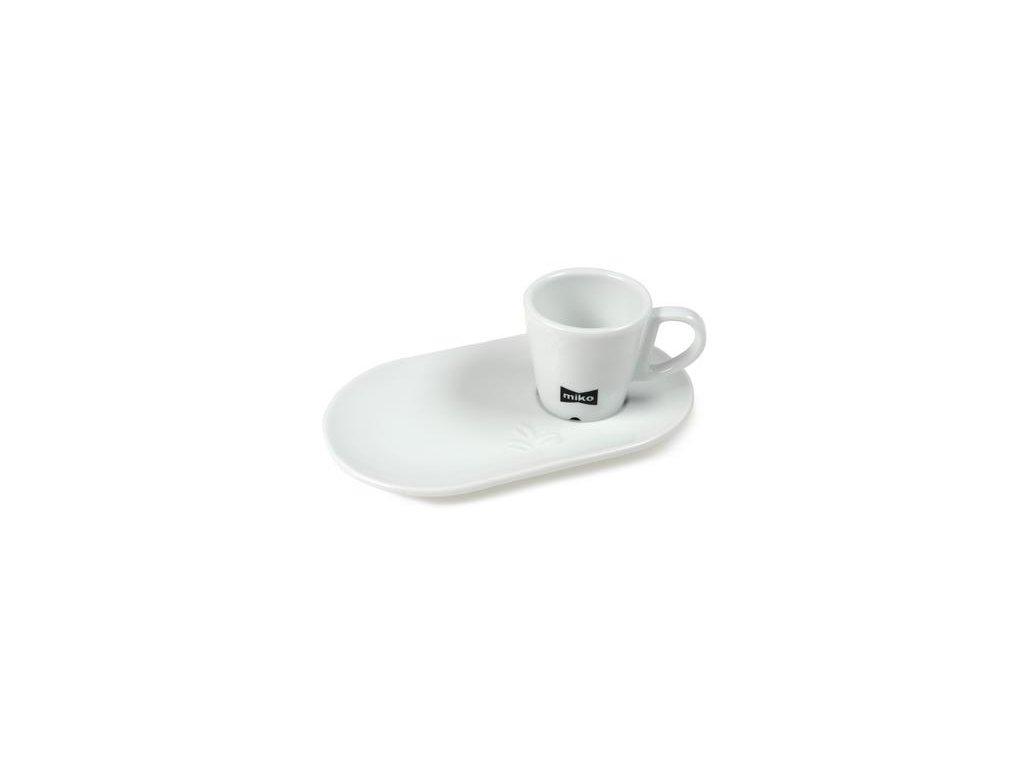Miko šálek espresso malý 6,5cl + podšálek