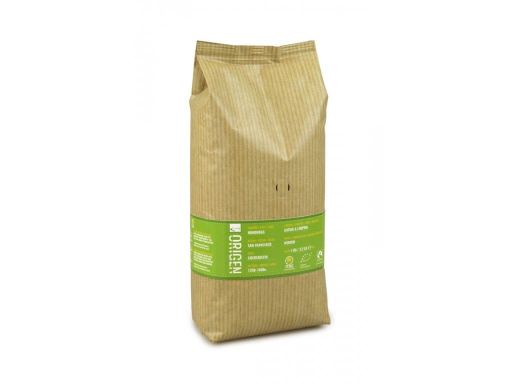 Zrnková káva Puro Fairtrade BIO Origen Honduras 1kg