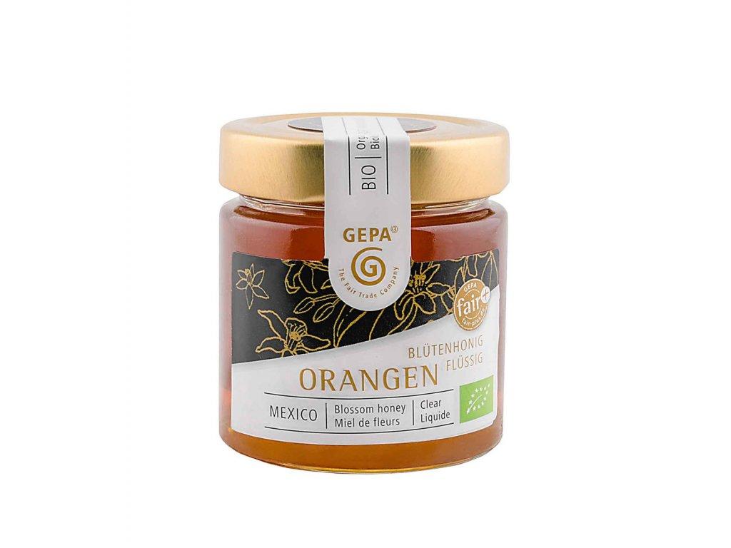 Bio med z pomerančových květů tekutý 250g