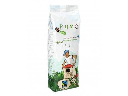 Zrnková káva Puro Fairtrade BIO DARK ROAST 250g