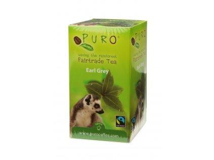 Fairtrade čaj porcovaný Puro Earl Grey černý  25x2g