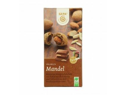 mandel schokolade