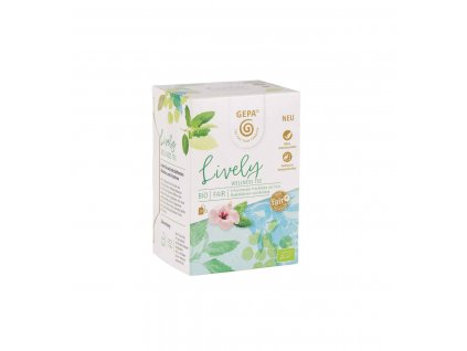 BIO Fairtrade Lively čaj 20 x 1,7 g