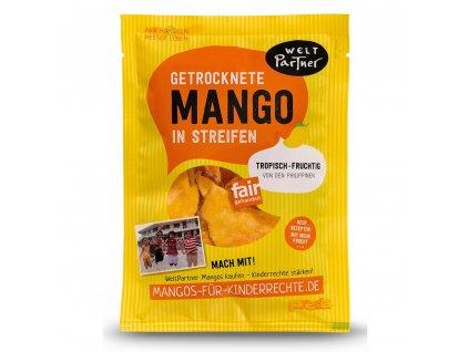 Mango sušené plátky mírně slazené, 100 g