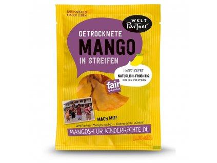 Mango sušené plátky bez cukru 100 g