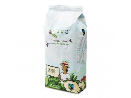 Zrnková káva Puro Fairtrade NOBLE 1kg