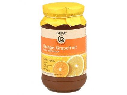 Fairtrade marmeláda pomeranč grapefruit