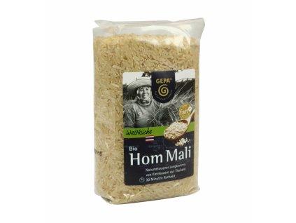 FAIRTRADE rýže - BIO Hom Mali neloupaná rýže