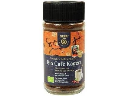 Instantní káva Fairtrade BIO Kagera