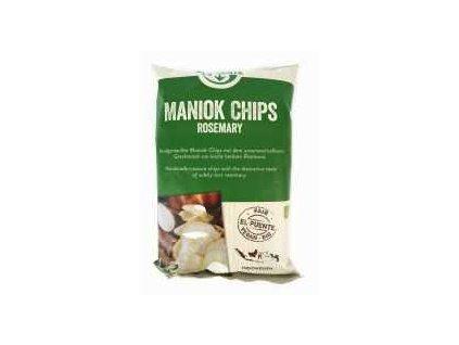 BIO chipsy z manioku - příchuť rozmarýn, 30g