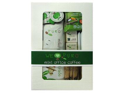 FAIRTRADE balíček zrnková káva Puro mini office pack