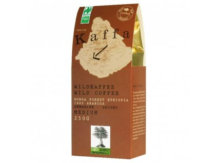 Mletá káva Fairtrade   - BIO Kaffa medium 250g