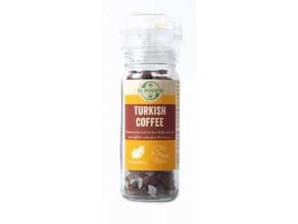 Mlýnek Turecká káva s kousky cukru, kardamomu a kávových zrn 70g