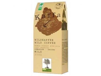 Mletá káva Fairtrade - BIO Kaffa mild 250g