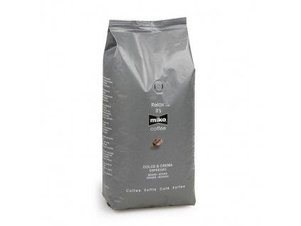 Miko dolce crema espresso zrnková káva 1kg