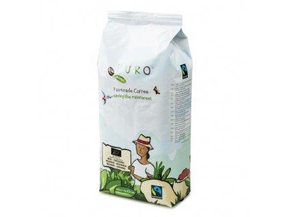Zrnková káva Puro Fairtrade BIO organic 1kg