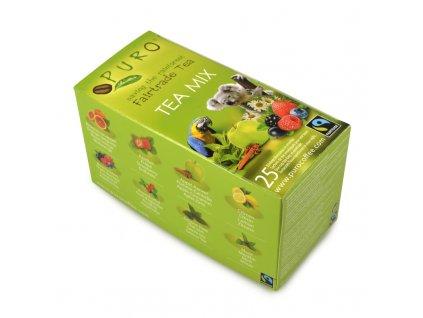 Fairtrade čaj porcovaný MIX Puro 25x2g
