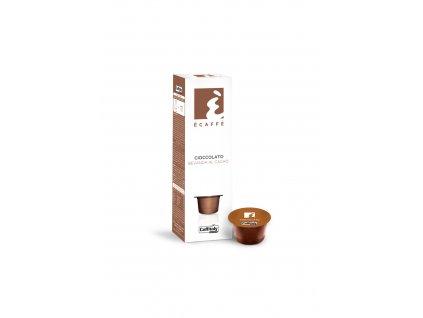 Kapsle - Ecaffé čokoláda Caffitaly systém 10 kusů
