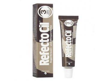 RefectoCil Barva na řasy a obočí přírodní hnědá 3