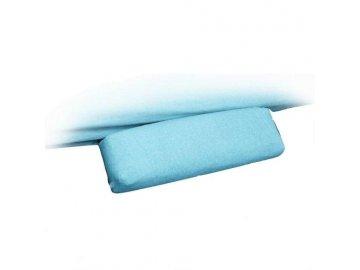 Froté návleky na kosmetické lehátko područky modré