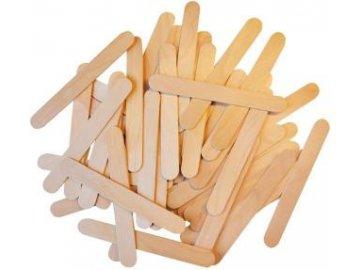 Špachtle dřevěná dřívko 15 cm 200 ks